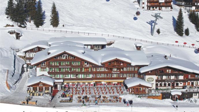 Das Alpenwelt Resort im Winter
