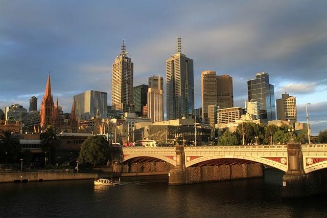 Australien Urlaub: Melbourne Hauptstadt des Bundesstaates Victoria