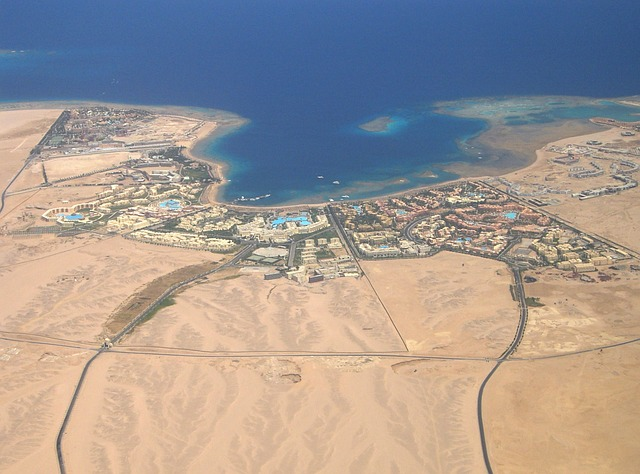 Hurghada ist die Hochburg des Tourismus