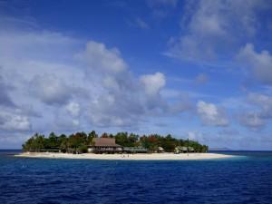 Kleine Inseln, Palmen und wunderschöne Tauchgebiete
