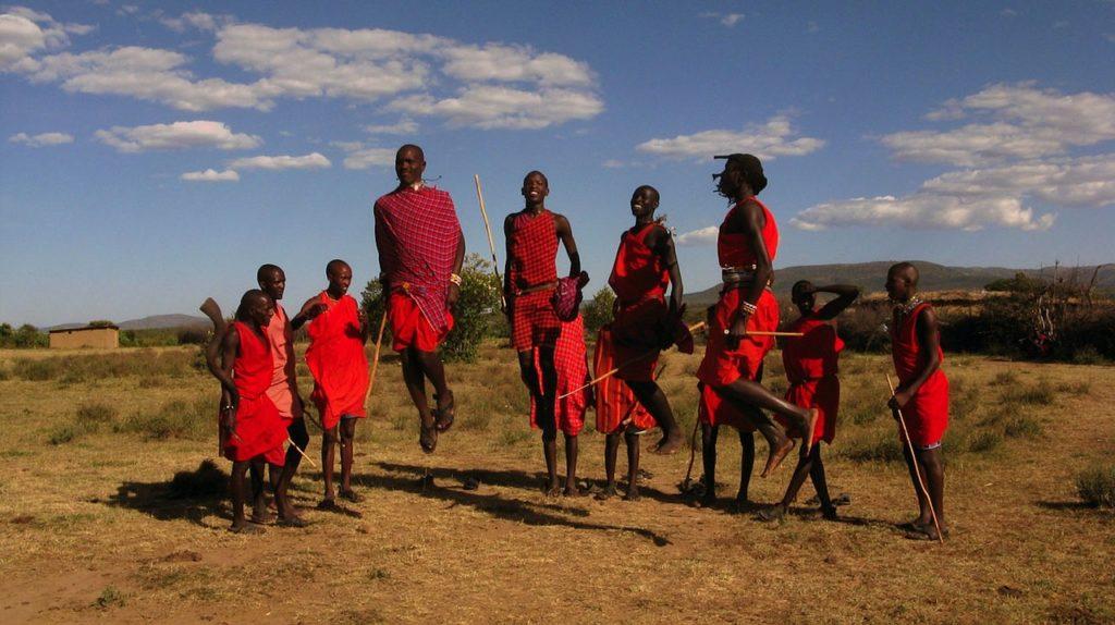 Massai Kenia