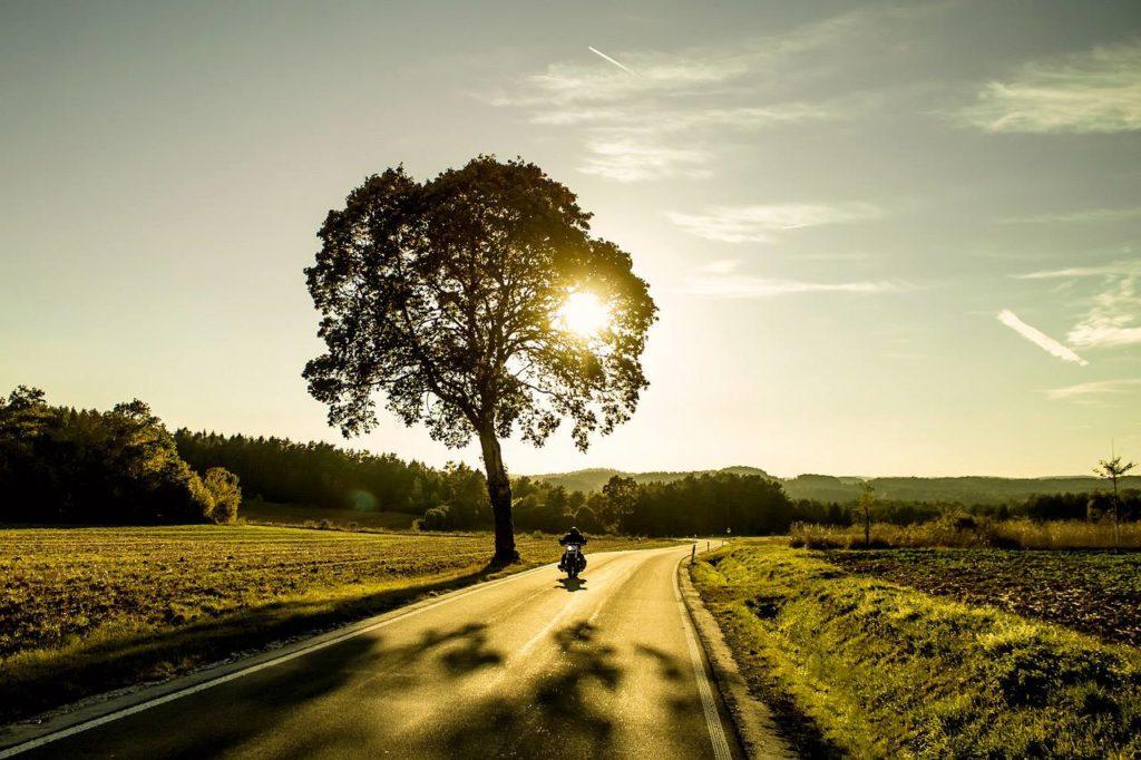 Motorradtour durchs Erzgebirge