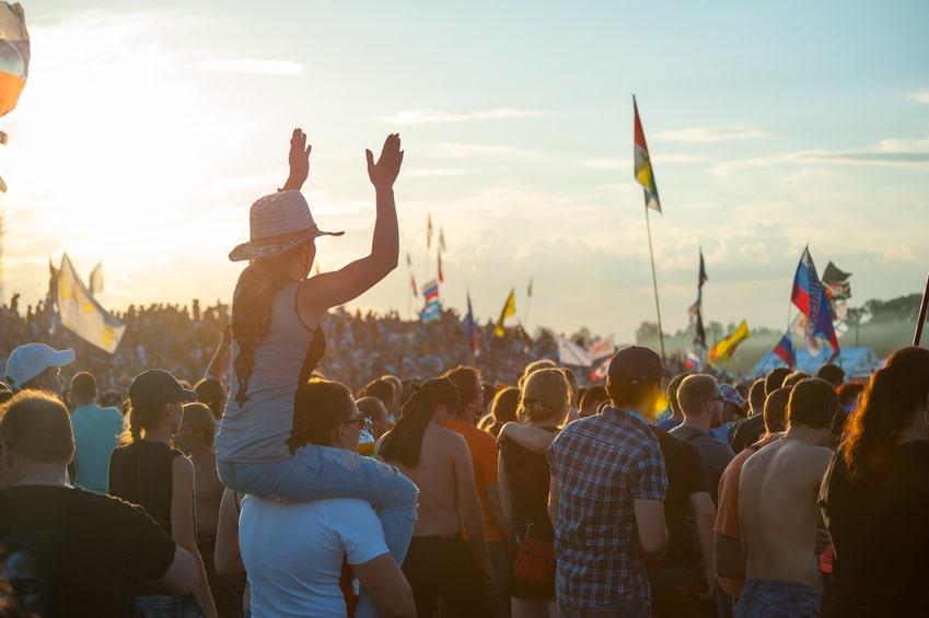 Sonne, Camping, Festival