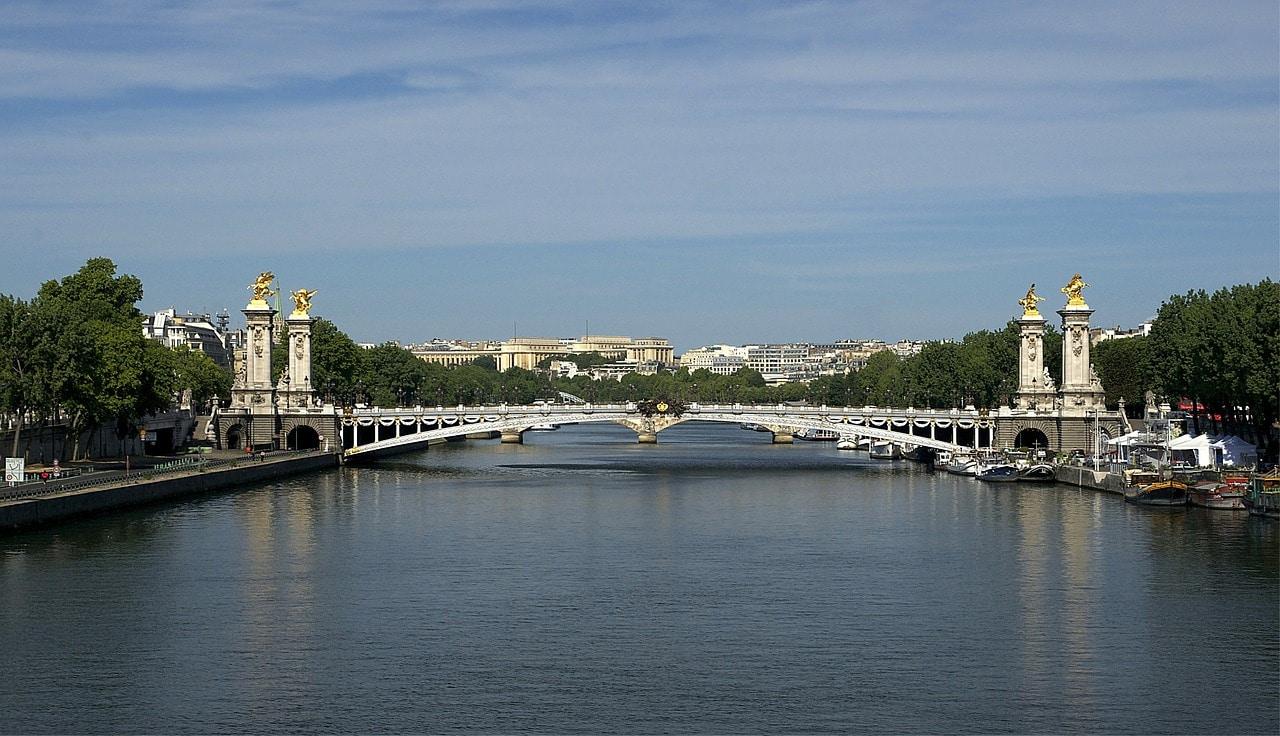 Brücke Pont Alexandre III