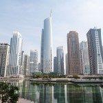 Dubai Sehenswürdigkeiten - Burj al Arab - Wasserspiele
