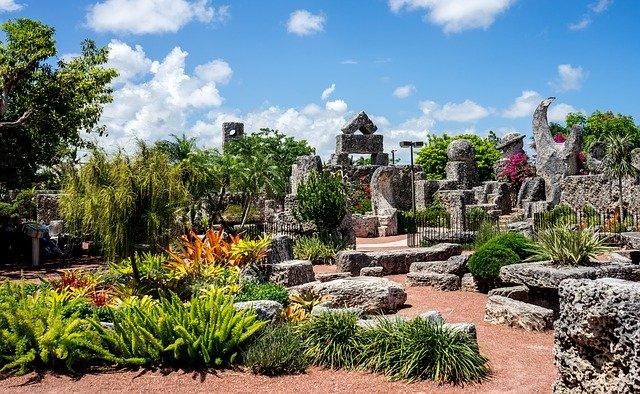 Korallen Burg