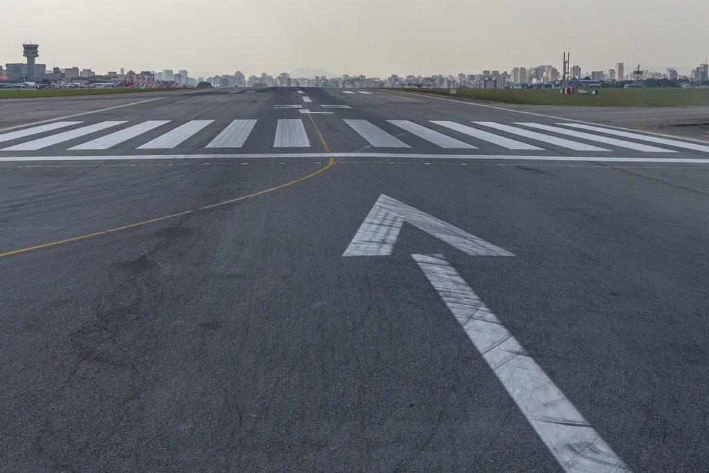 Startbahn Flughafen