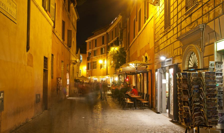 Rom Trastevere - dolce Vita, leckeres Essen und relaxte Leute